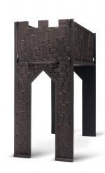 Чугунный мангал «Замок»-4