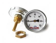 Биметаллический термометр для коптильни