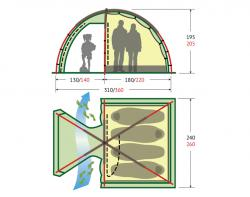 Кемпинговая палатка KSL Rover 3-2