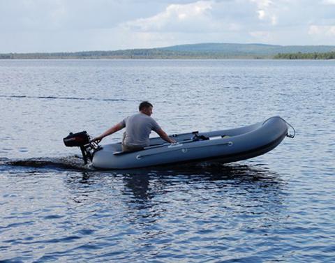 Надувная лодка Stream «Дельфин 2+» с транцем