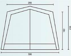 Садовый тент-шатер Campack Tent G-3301 (со стенками)-2