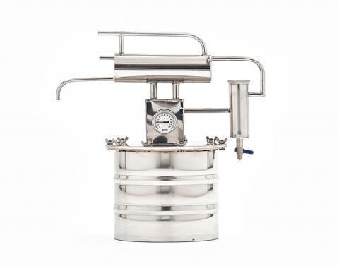 Cамогонный аппарат (дистиллятор) «Гном» 12 литров с разборным сухопарником