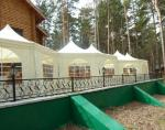 Садовый тент шатер Green Glade 1052 (8 граней) -3