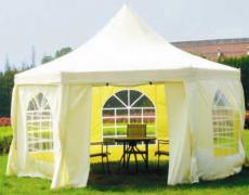Садовый тент-шатер Green Glade 1053 (6 граней)