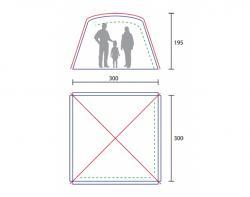 Кемпинговый тент-шатер KSL Boston-2