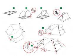 Туристическая палатка Alexika Freedom 2 Plus-3