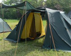 Кемпинговая палатка Alexika Florida 4 (green)-3