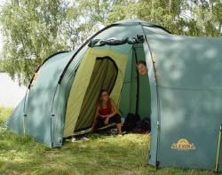 Кемпинговая палатка Alexika Maxima 6 Luxe (green)-7