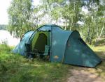 Кемпинговая палатка Alexika Maxima 6 Luxe (green)-5