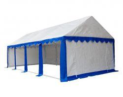Садовый тент-шатер Митек Гросс 8х4 (в 4-х местах)-5