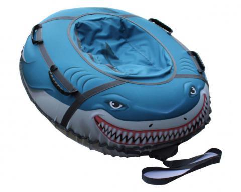 Тюбинг Митек «Акула» 110*95 см овал