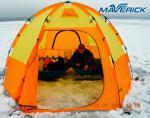 Палатка для зимней рыбалки World of Maverick ICE 5 (orang)-8