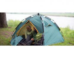 Туристическая палатка Greenell Клер 3 V2 -4