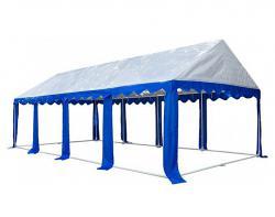 Садовый тент-шатер Митек Гросс 8х4 (в 4-х местах)-2