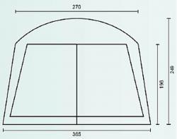 Садовый тент-шатер Campack Tent G-3001 (со стенками)-2