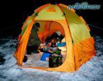 Палатка для зимней рыбалки World of Maverick ICE 5 (orang)-5