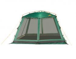 Кемпинговый тент-шатер Alexika China House ALU (зеленый)-3