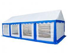 Садовый тент-шатер Митек Гросс 8х4 (в 4-х местах)